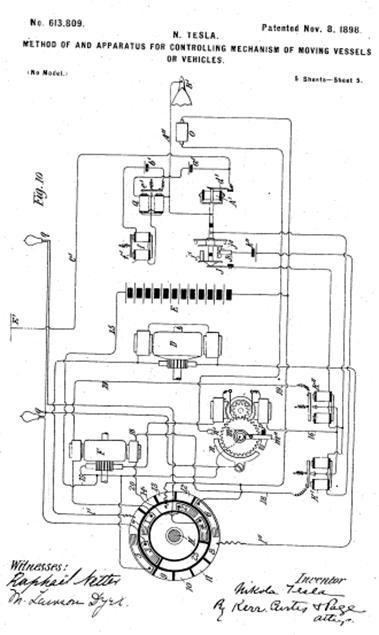 Схема Н.Теслы
