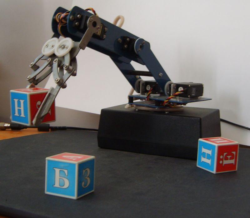 Роботы манипуляторы своими руками